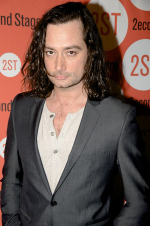 <p>Constantine Maroulis poses for photos after the show.</p><br />(© Nessie Nankivell)
