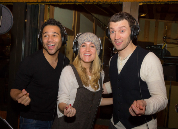 <p>Corbin Bleu, Lora Lee Gayer, and Corbin Bleu star in the new production.</p><br />(© Seth Walters)