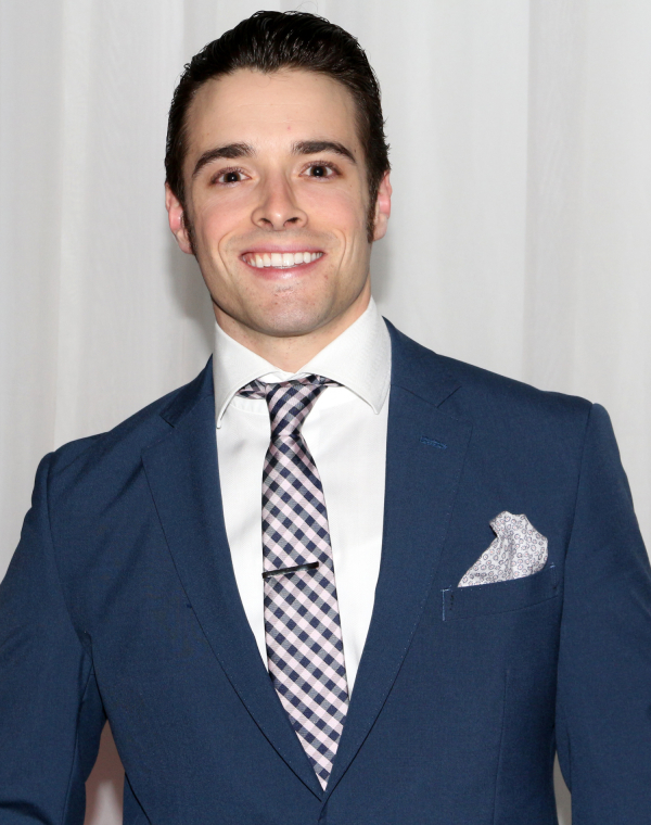 <p>Corey Cott is Gaston Lachaille, the production&#39&#x3B;s leading man.</p><br />(© David Gordon)