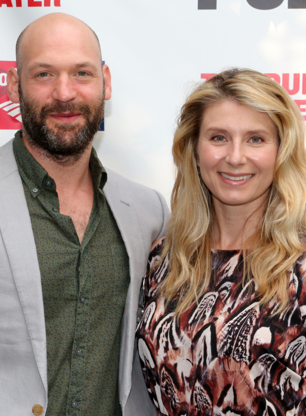 <p>Corey Stoll (seen here with his wife, Nadia Bowers) will next appear in the Public Theater&#39&#x3B;s revival of <em>Plenty</em>.</p><br />(© David Gordon)