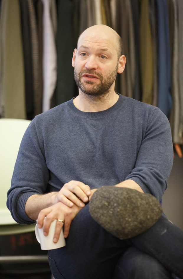 <p>Corey Stoll stars as Marcus Brutus.</p><br />(© Joan Marcus)