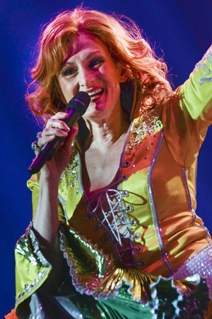 <p>Corinne Melancon is a dancing queen onstage. </p><br />(© Nessie Nankivell)