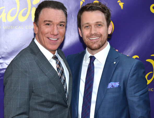 <p>Could it be that Patrick Page and Michael Arden will star in the next Disney musical to possibly hit Broadway?</p><br />(© David Gordon)