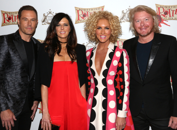 <p>Country group Little Big Town comes out in support of their producer and songwriter, Wayne Kirkpatrick.</p><br />(© David Gordon)