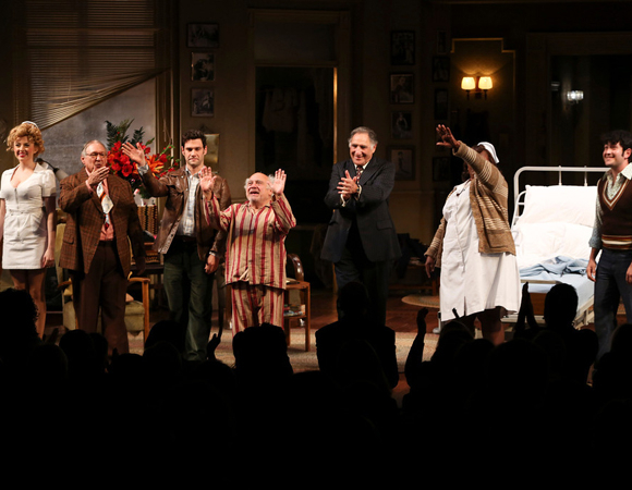 <p>Curtain call for the cast of <em>The Sunshine Boys</em>.</p><br />(© 2013 Ryan Miller/Capture Imaging)