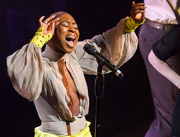 <p>Cynthia Erivo brings the house down with her performance of &quot&#x3B;One Night Only&quot&#x3B; from <em>Dreamgirls</em>.</p><br />(© Peter Gibbons)