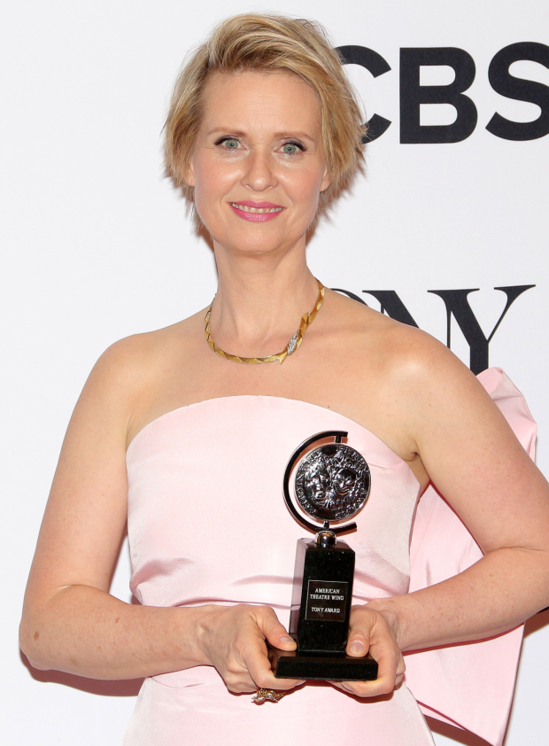 <p>Cynthia Nixon, Best Featured Actress in a Play winner for <em>The Little Foxes</em>.</p><br />(© David Gordon)
