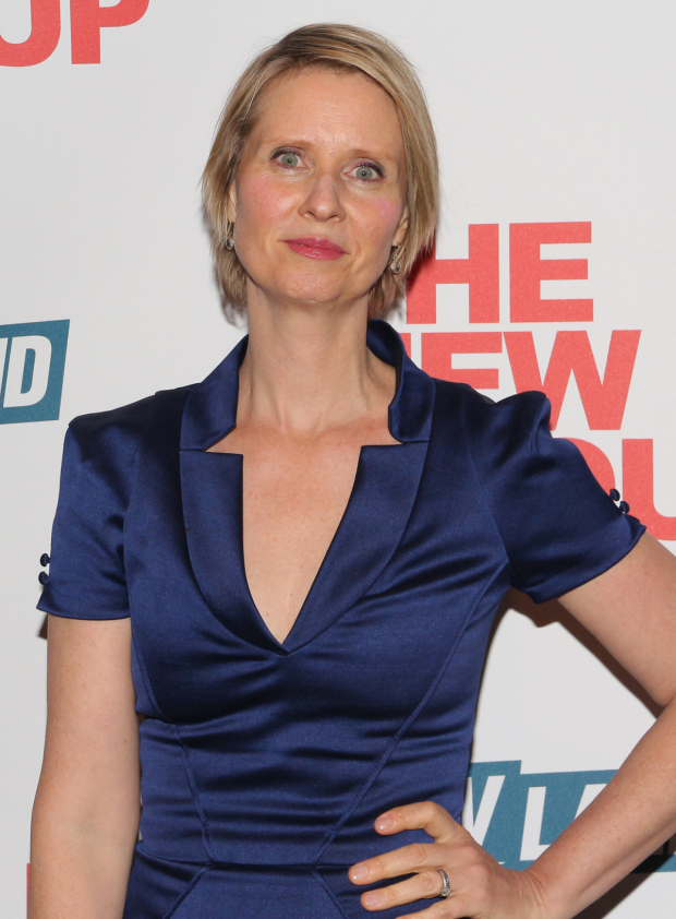 <p>Cynthia Nixon is a proud member of the New Group family.</p><br />(© David Gordon)