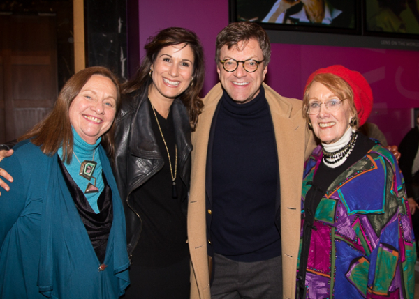 <p>Dale Soules, Stephanie J. Block, Jim Caruso, and Marni Nixon.</p><br />(© Seth Walters)