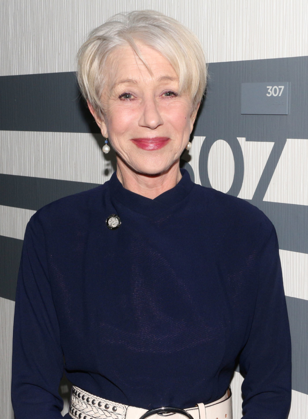 <p>Dame Helen Mirren brings a regal presence as a nominee for her performance as Queen Elizabeth II in <em>The Audience</em>.</p><br />(© David Gordon)