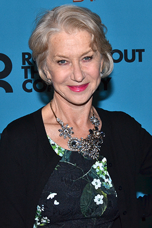 <p>Dame Helen Mirren is a longtime supporter and veteran of Roundabout, having starred in the company&#39&#x3B;s 1995 revival of <em>A Month in the Country</em>.</p><br />(© David Gordon)