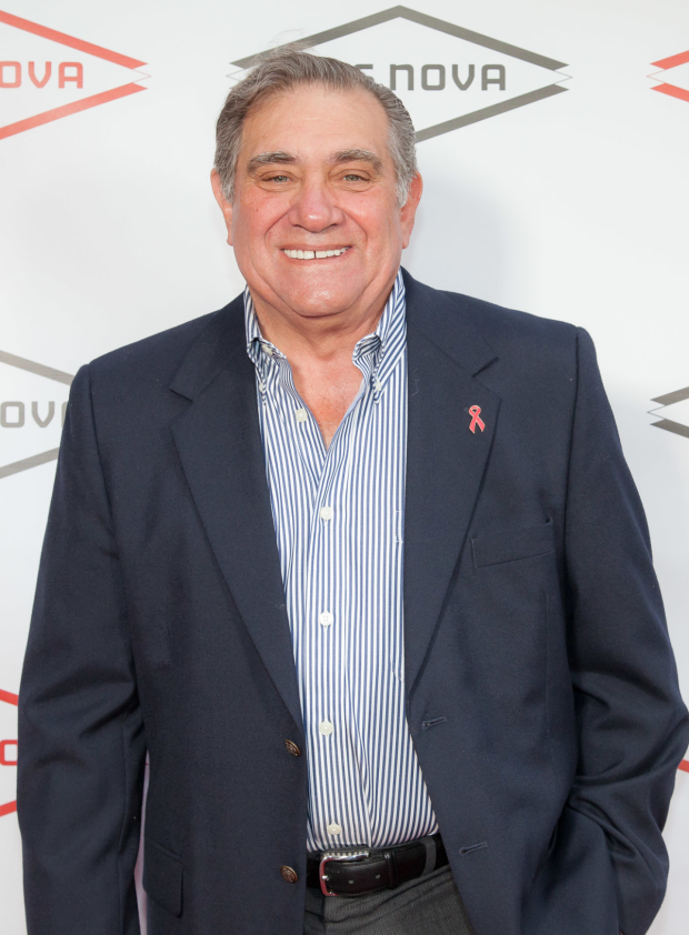 <p>Dan Lauria played legendary football coach Vince Lombardi for honoree Thomas Kail on Broadway in 2010.</p><br />(© Seth Walters)