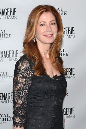 <p>Dana Delany steps out for the opening night of <em>The Glass Menagerie</em>.</p><br />(© David Gordon)