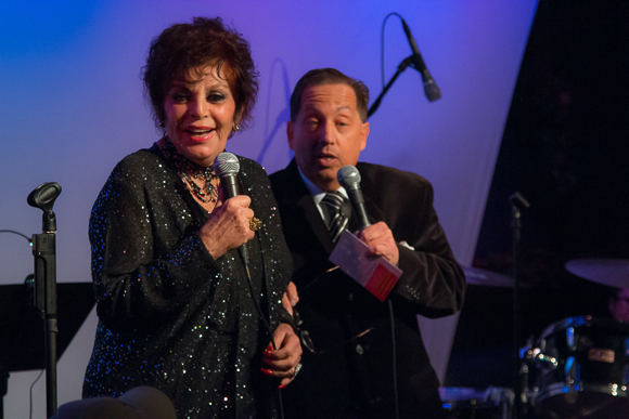 <p>Dana Lorge and Warren Schein acted as hosts for the first evening.</p><br />(© Seth Walters)