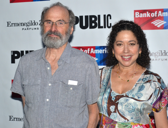 <p>Daniel Sullivan (seen here with his wife, Mimi Lieber) is the production&#39&#x3B;s director.</p><br />(© David Gordon)