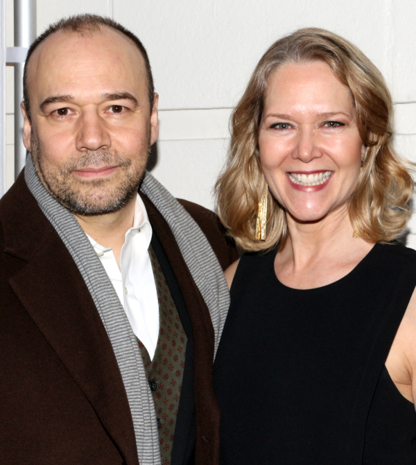 <p><em>Cabaret</em>&#39&#x3B;s Danny Burstein and <em>Cinderella</em>&#39&#x3B;s Rebecca Luker always look lovely on a Broadway opening night.</p><br />(© David Gordon)
