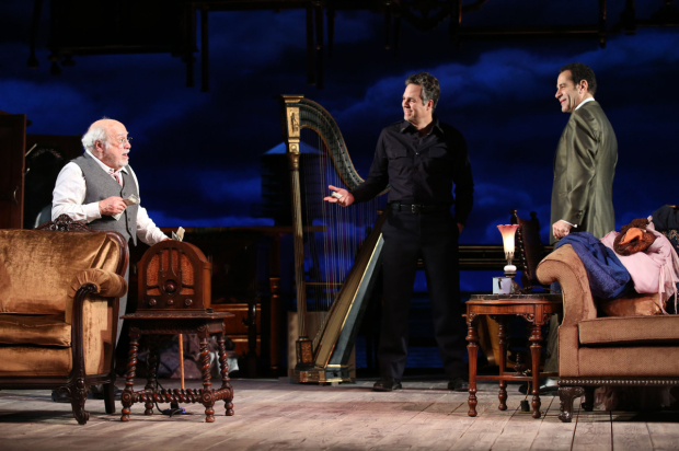 <p>Danny DeVito (left) makes his Broadway debut in <em>The Price</em>.</p><br />(© Joan Marcus)