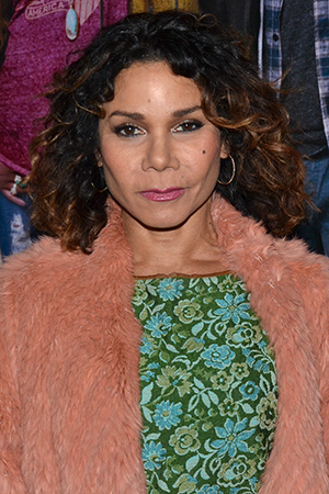 <p>Daphne Rubin-Vega is on hand to root for her <em>Rent</em> family members involved with <em>If/Then</em>.</p><br />(© David Gordon)