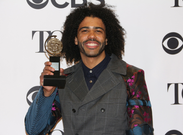 <p>Daveed Diggs, Best Actor in a Featured Role in a Musical winner for <em>Hamilton</em>.</p><br />(© David Gordon)