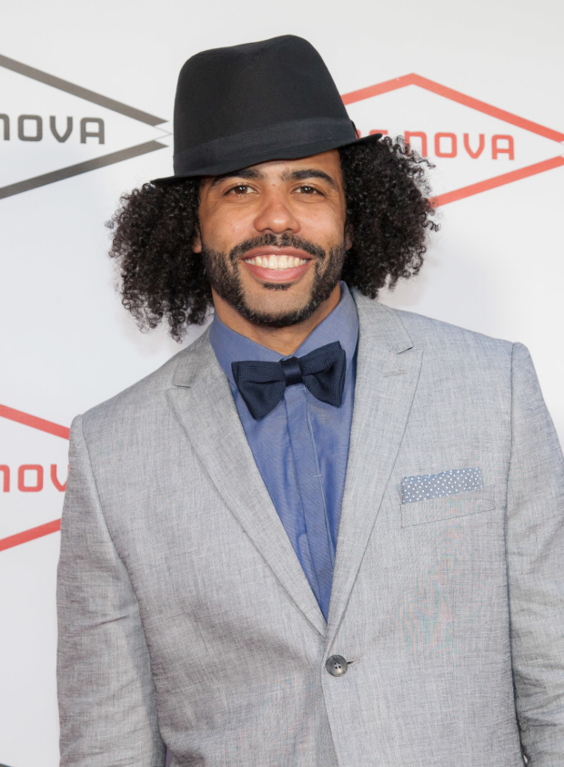 <p>Daveed Diggs received a Lucille Lortel Award for his performance as the Marquis de Lafayette and Thomas Jefferson in <em>Hamilton</em>.</p><br />(© Seth Walters)