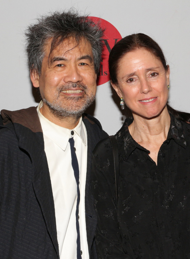 <p>David Henry Hwang and Lilly honoree Julie Taymor will collaborate on an upcoming Broadway revival of <em>M. Butterfly</em>.</p><br />(&copy&#x3B; David Gordon)