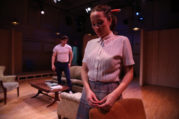 <p>David T. Patterson and Hannah Elless in a scene from <em>Come Back, Little Sheba</em>.</p><br />(© Carol Rosegg)
