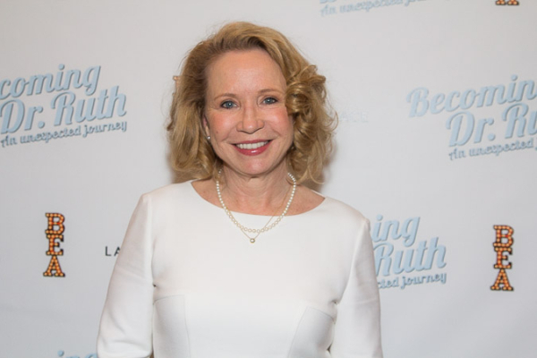 <p>Debra Jo Rupp looks radiant on opening night.</p><br />(© Seth Walters)