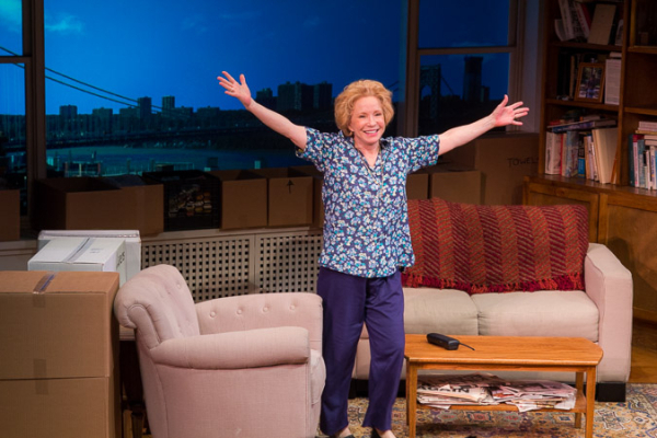 <p>Debra Jo Rupp takes a bow on opening night.</p><br />(© Seth Walters)