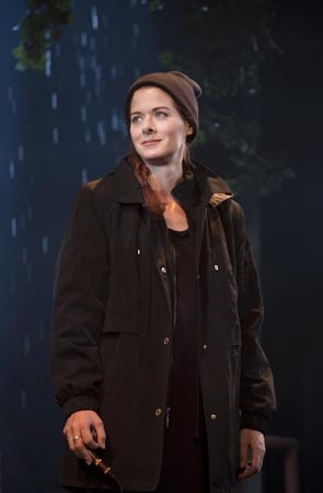 <p>Debra Messing stars as Rosemary in <em>Outside Mullingar</em>.</p><br />(© Joan Marcus)