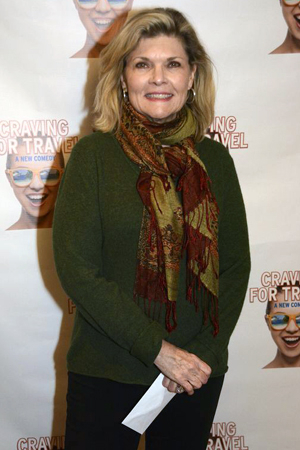 <p>Debra Monk is ready for an evening of travel-related theater.</p><br />(© Nessie Nankivell)