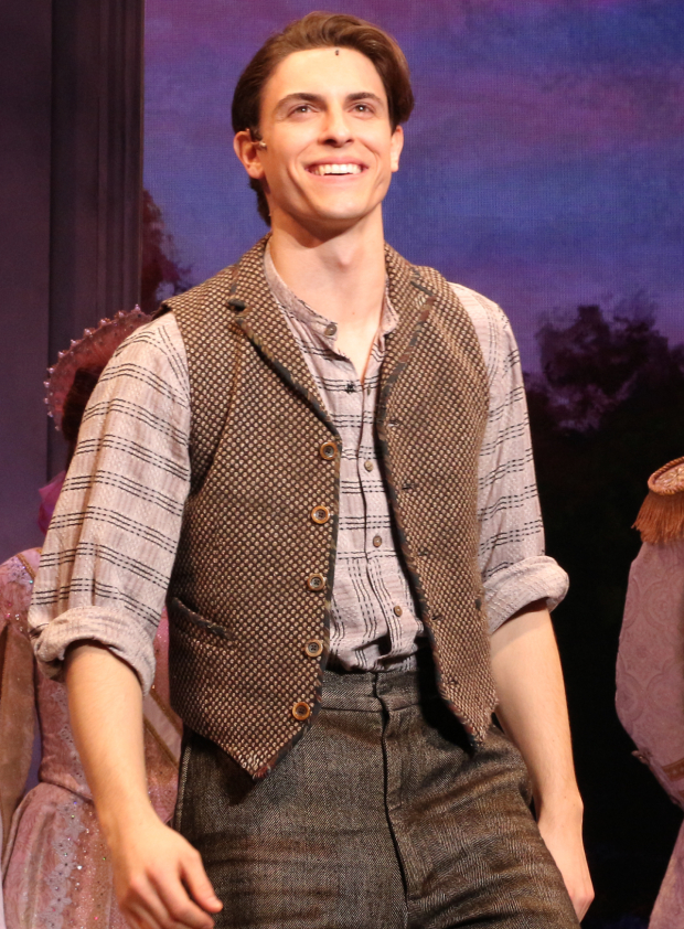 <p>Derek Klena stars as Dmitry.</p><br />(© David Gordon)