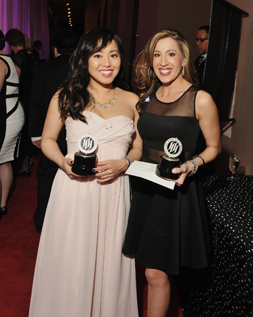 <p>Diana Huey and Jessica Vaccaro are the tied recipients of the Award for Outstanding Lead Actress, Resident Musical.</p><br />(© Shannon Finney)