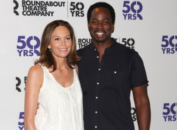 <p>Diane Lane and Harold Perrineau head the cast of <em>The Cherry Orchard</em> as Madame Ranevskaya and Lopakhin.</p><br />(© David Gordon)