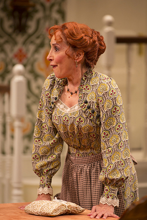 <p>Didi Conn performs the featured role of Gertrude.</p><br />(© T Charles Erickson)