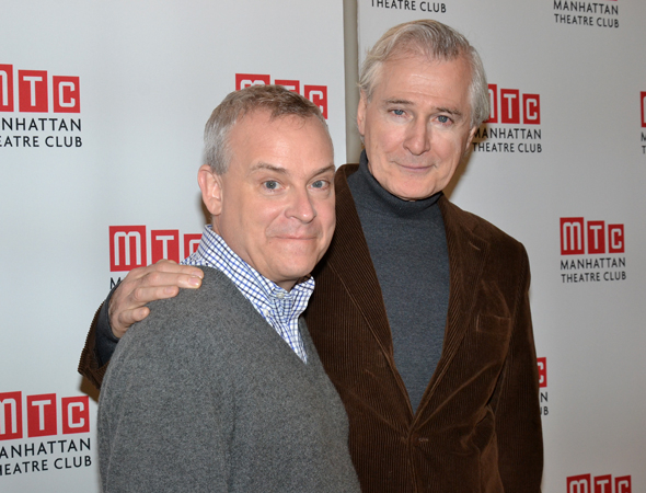 <p>Director Doug Hughes and playwright John Patrick Shanley reunite after collaborating on Shanley's plays <em>Doubt</em> and <em>Defiance</em>.</p><br />(© David Gordon)