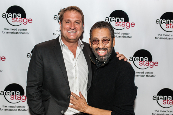 <p>Director Jeff Calhoun smiles for the camera with the show&#39&#x3B;s creator Maurice Hines.</p><br />(© Cameron Whitman Photography)