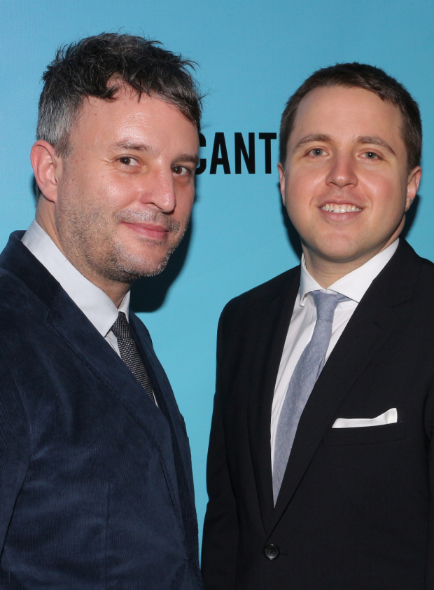 <p>Director Trip Cullman and playwright Joshua Harmon both make their Broadway debuts with <em>Significant Other</em>.</p><br />(© David Gordon)