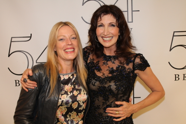 <p><em>Dirty Rotten Scoundrels</em> costar Sherie Rene Scott came out to join the festivities.</p><br />(© Dylan Bustamante/54 Below)