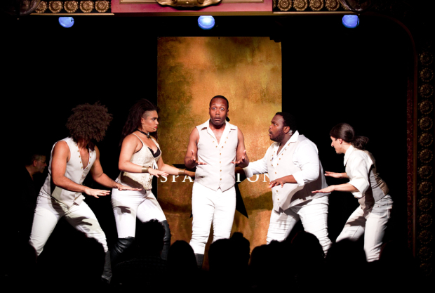 <p>Do not throw away your shot to see Nicholas Edwards, Nora Schell, Chris Anthony Giles, Juwan Crawley, and Dan Rosales in <em>Spamilton</em>.</p>