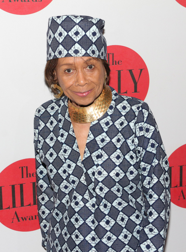 <p><em>Don&#39&#x3B;t Bother Me, I Can&#39&#x3B;t Cope</em> writer Micki Grant is honored by the Lilly Awards.</p><br />(&copy&#x3B; David Gordon)