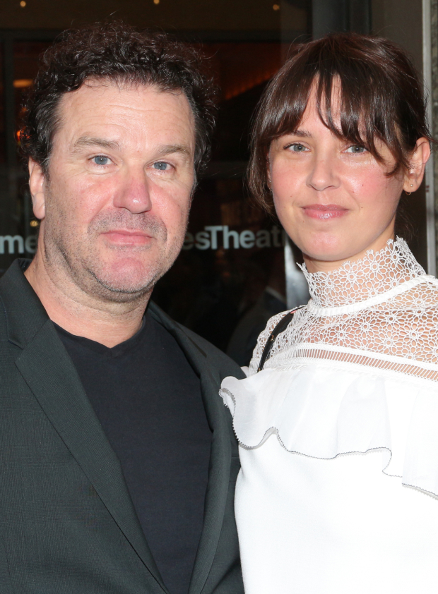 <p>Douglas Hodge (seen here with his wife, Amanda) appeared in Roundabout Theatre Company&#39&#x3B;s 2012 production of <em>Cyrano de Bergerac</em>.</p><br />(© David Gordon)