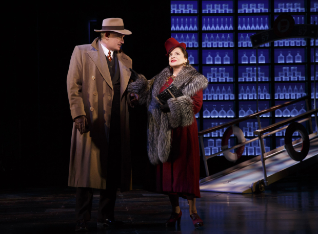 <p>Douglas Sills and Patti LuPone share a scene.</p><br />(© Joan Marcus)