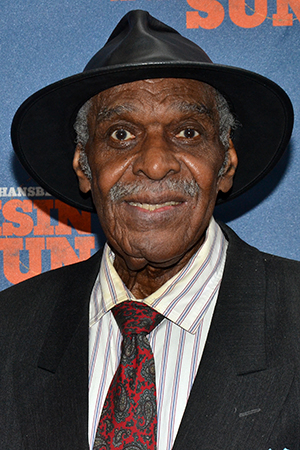 <p>Douglas Turner Ward, playwright and founder of the Negro Ensemble Company, appeared in the original production of <em>A Raisin in the Sun</em> in 1959.</p><br />(© David Gordon)