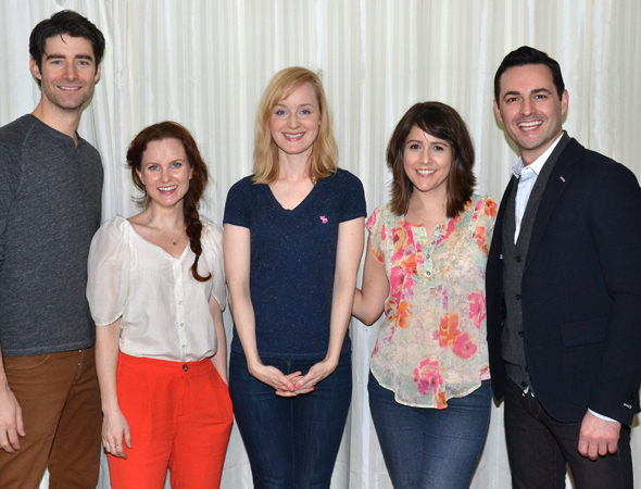<p>Drew Gehling, Autumn Hurlbert, Erin Davie, Alli Mauzey, and Max von Essen will sing from Carolyn Leigh&#39&#x3B;s 1969 musical, <em>Gatsby</em>.</p><br />(© David Gordon)