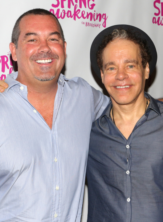<p>Duncan Sheik and Steven Sater are proud to see their Tony-winning musical return to Broadway.</p><br />(© David Gordon)