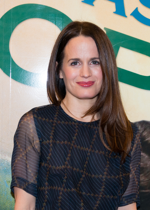 <p>Elizabeth Reaser is the production&#39&#x3B;s leading lady.</p><br />(© Allison Stock)
