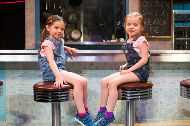 <p>Ella Dane Morgan and Cate Elefante share the role of Lulu in <em>Waitress</em>.</p><br />(© Jeremy Daniel)