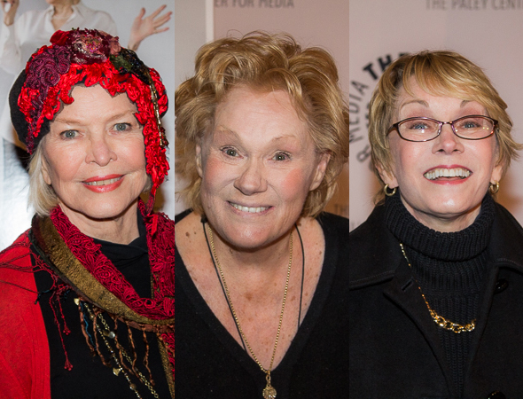 <p>Ellen Burstyn, Tammy Grimes, and Sandy Duncan.</p><br />(© Seth Walters)