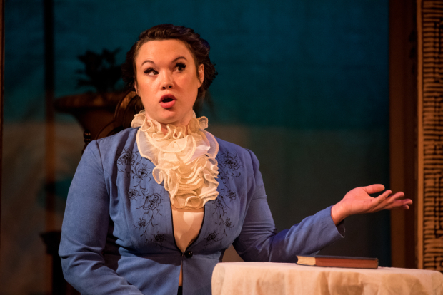 <p>Emily Madan as Julia in TP&amp&#x3B;co&#39&#x3B;s <em>The Two Gentlemen of Verona</em>.</p><br />(© Kelly Marsh)