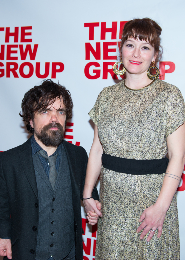 <p>Emmy Award winner Peter Dinklage came out to support his wife, Erica Schmidt.</p><br />(© Allison Stock)